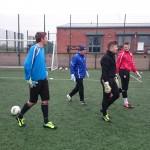 Trainingsession in England with Steve Potts(Mancity)